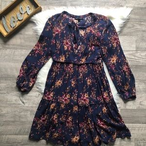 American Eagle Outfitters Boho Dress Bell Sleeve
